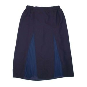 NWT Banana Republic 4 Pleated Godet Midi Skirt